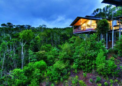 Oreillys Mountain Villa External